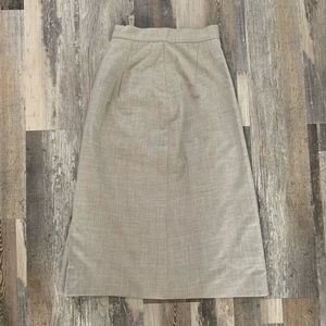 Dresses & Skirts - VINTAGE!! Wool Pencil Skirt- PERFECT condition